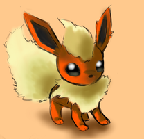 Flareon #136 by Gotta-Sketchem-All