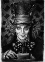Mad Hatter - Johnny Depp by Bobby-Sandhu