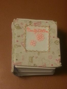 BCD: Flowers Mini Blank Book 2 by t0pd0g4evr
