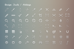 Simplicons Set - 590+ vector icons by okidoci