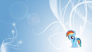 MLP: FiM - RainbowDash - Filly by Unfiltered-N