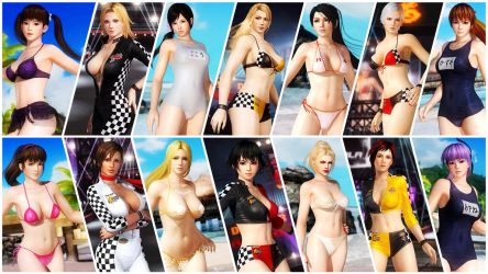 the ULTIMATE bikinis - DEAD OR ALIVE 5 ULTIMATE by Leifang12