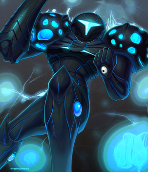 Dark Samus by hybridmink
