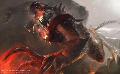 Magma Dragon by ChunLo