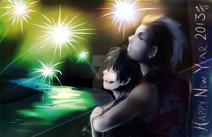 Happy New Year 2013!~ by XSpiritWarriorX