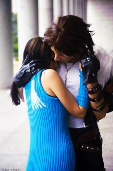 Rinoa and Squall cosplay by Eyes-0n-Me