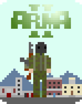 Arma 2 Gamecard by Obnasious