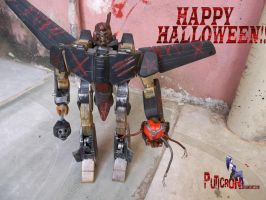 transformers happy halloween by puticron
