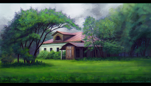 Old House#1 by Linum7