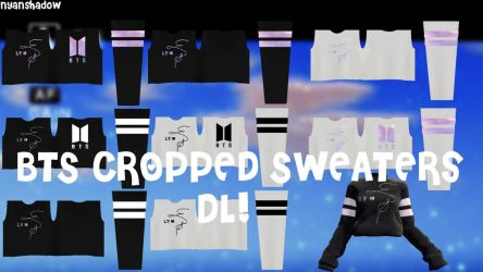 {MMD} BTS Cropped Sweaters || Download~! by NyanShadowYT