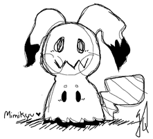 Mimikyu by TheCatQueen10