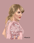 Taylor Swift by chillyravenart