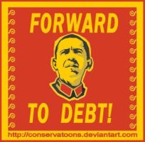 Forward to Debt by Conservatoons
