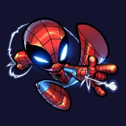 Chibi Spidey by zaratus