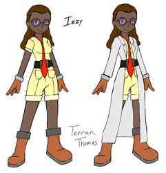 Izzy - First Concept by Terran8793