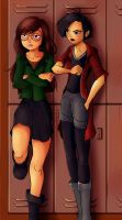 Daria and Jane by Neon-Lady