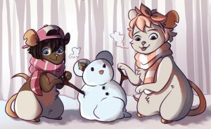 Snowmouse by Icoboo