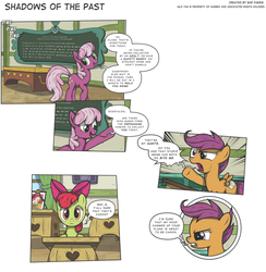 MLP:FiM - Shadows of the Past #17 by PerfectBlue97