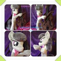 Octavia Melody standing plush SOLD by Littlestplushoppe