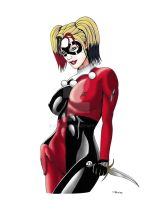 Harley's Gotta Knife Color by ESO2001