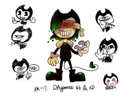DAgames Bendy by ELENmrakipiler