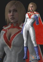 Injustice 2 Power Girl by thePWA