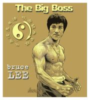 bruce lee by bunny34