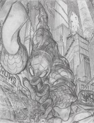 The Amazing Spider-Man by Dingodile24