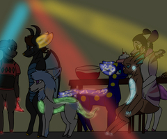 Awesome Party... by GoblinsDomain