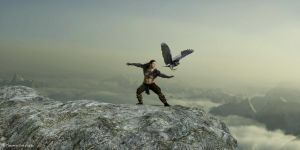 Fly like an eagle ... by ThierryCravatte
