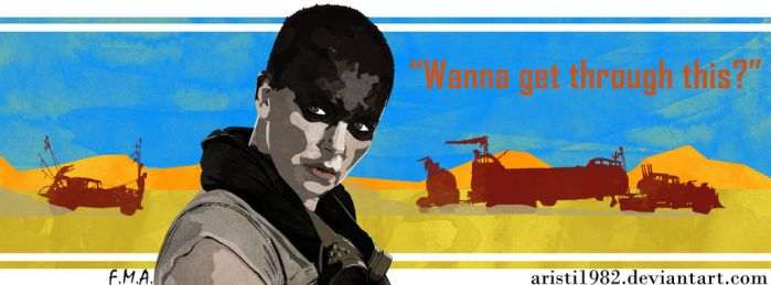 FLAG (Quote) - series 9 - Furiosa by aristi1982