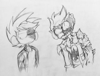 Some good lookin dudes by bLurZSkeTched