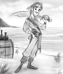 Pirate dude by LuigiL