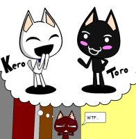 toro and kuro color switch by MasterPinpey