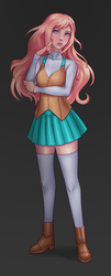 Character Design - Nellie by Naderia
