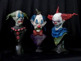 The 3 Clowns by Blairsculpture