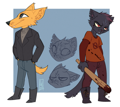 NITW doodles by LiLaiRa