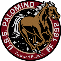 USS Palomino Ship's Patch by viperaviator
