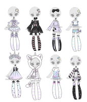 +Outfit Adoptable Mix 16 [CLOSED]  + by Hunibi
