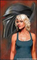 BSG: Six 'Caprica' by MJasonReed