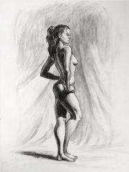 Life Drawing Study by GhostAegis