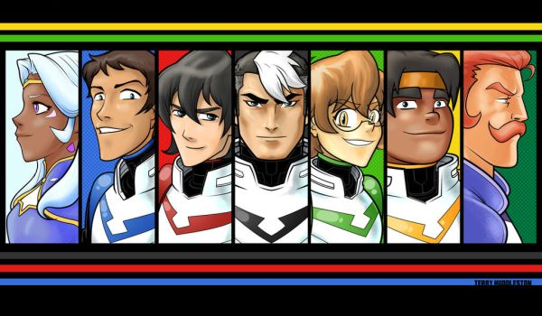 Voltron by Thuddleston