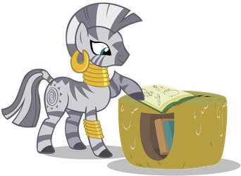 Zecora with book by Stinkehund