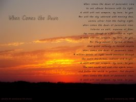 When Comes the Dawn by meljoy68
