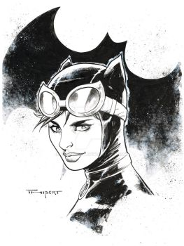 Catwoman CCR commission 2018 by aethibert