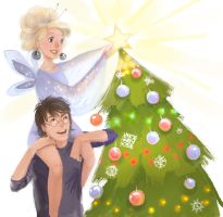 Harry and Luna Happy New Year by MeryChess