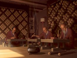 Scribes by sthefo
