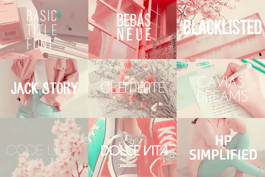Pack fonts ( + ) 13 by lovexlmost