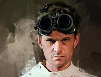Dr. Horrible by WisesnailArt