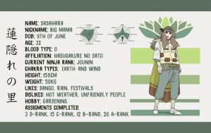 HASUGAKURE OC INFO SHEET: Sasahara (UPDATED) by makibo031226
